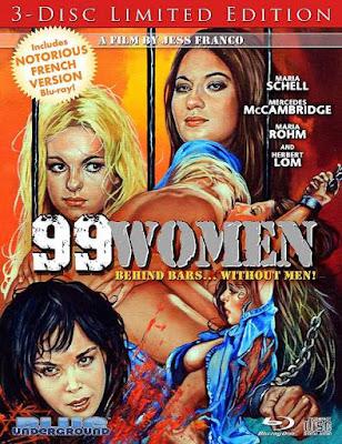 Portada 99 Women (Limited Edition) edición Bluray importación.