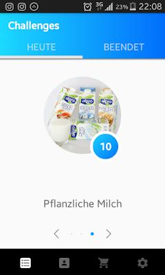 """Challenge """"Probier mal pflanzliche Milch statt tierischer Milch"""""""