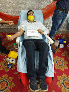 बागपत लायंस क्लब द्वारा लगाया गया रक्तदान शिविर | #NayaSaberaNetwork