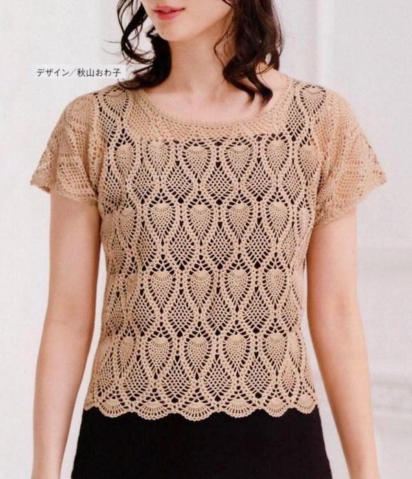 Elegant Crochet Blouse