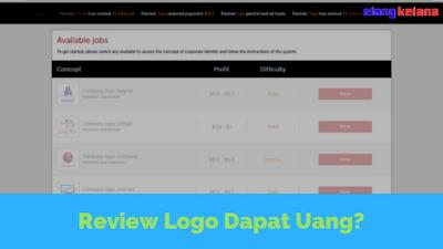 Situs ini telah terbukti tak membayar kepada para penggunanya HotLogo, Cuma Review Logo Dapat Uang! [SCAM]
