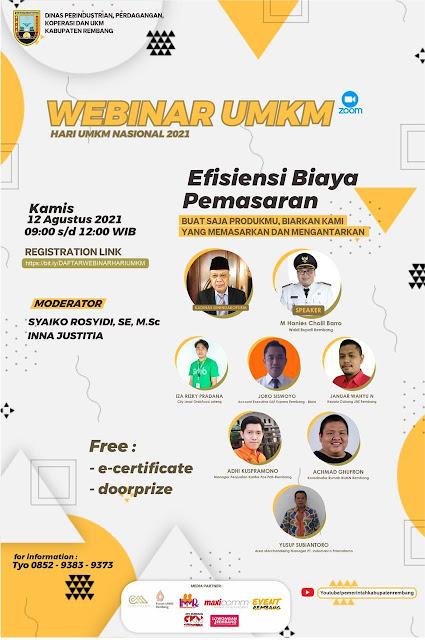 Webinar UMKM Kabupaten Rembang