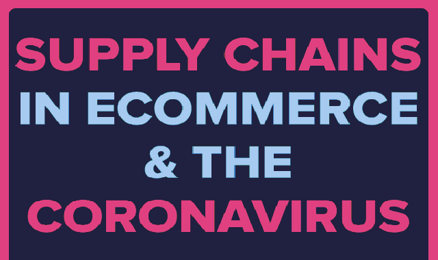 Supply Chains in eCommerce and The Coronavirus  #infographic