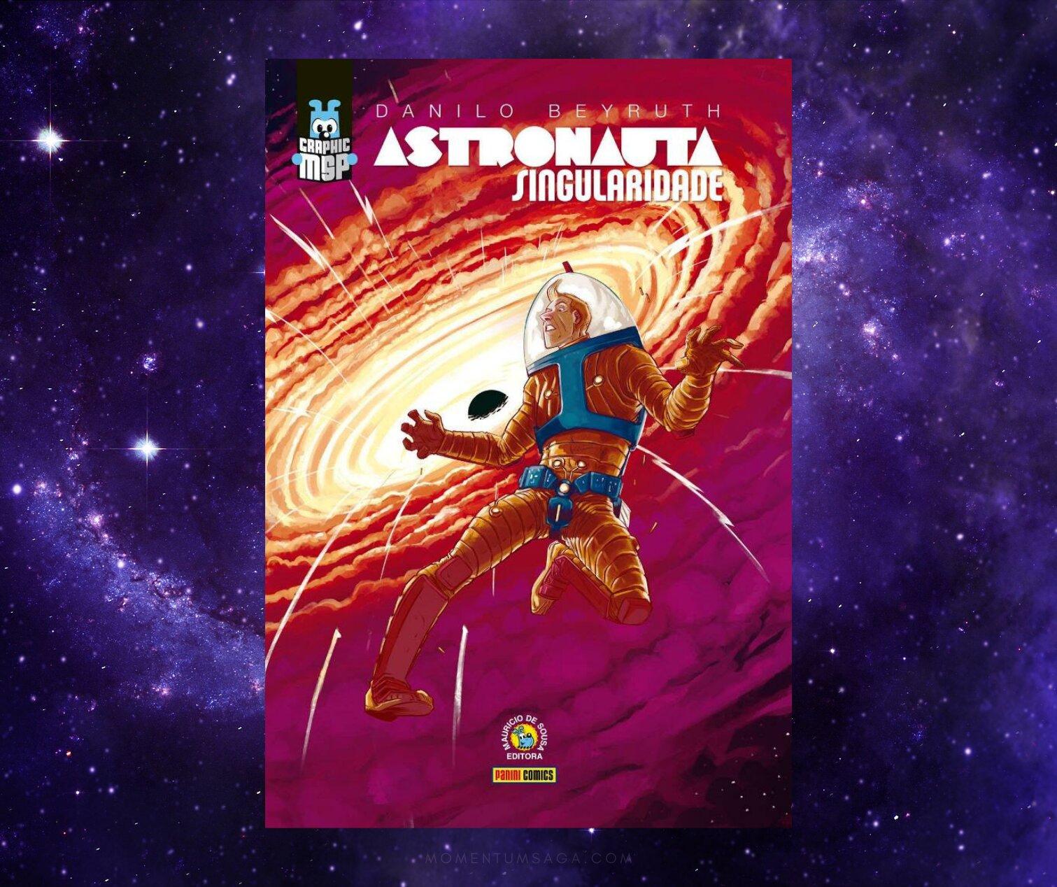 Resenha: Astronauta Singularidade, de Danilo Beyruth