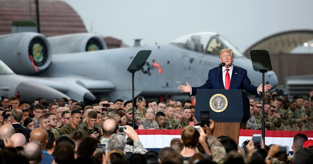 Tại Căn Cứ Không Quân Nam Hàn: Trump Tuyên Bố Sẽ Duy Trì Vòng Đời Chiến Cơ A-10 Thunderbolt II