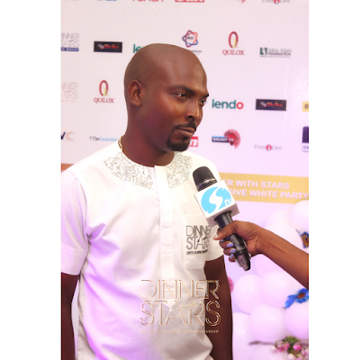 Tolu Okoro (Creative/Executive Producer) launches his TV show: #DinnerWithStars
