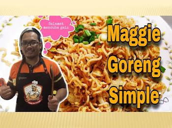 Resepi Maggie Kari Goreng Simple | Menu Paling Senang | Masak Bersama Anak-anak