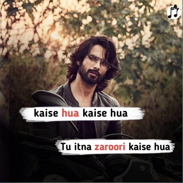 Kaise hua lyrics-vishal mishra-kabir singh