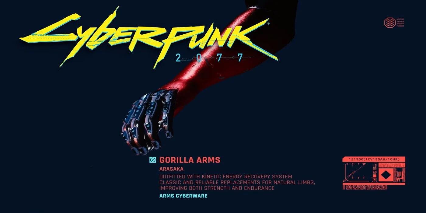 Legendary Gorilla Arms Implant