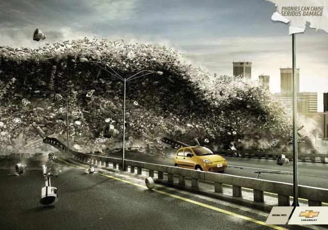 mau memperlihatkan Inspirasi seputar poster iklan 12 Poster Iklan Tema Akhir Dunia Kreatif