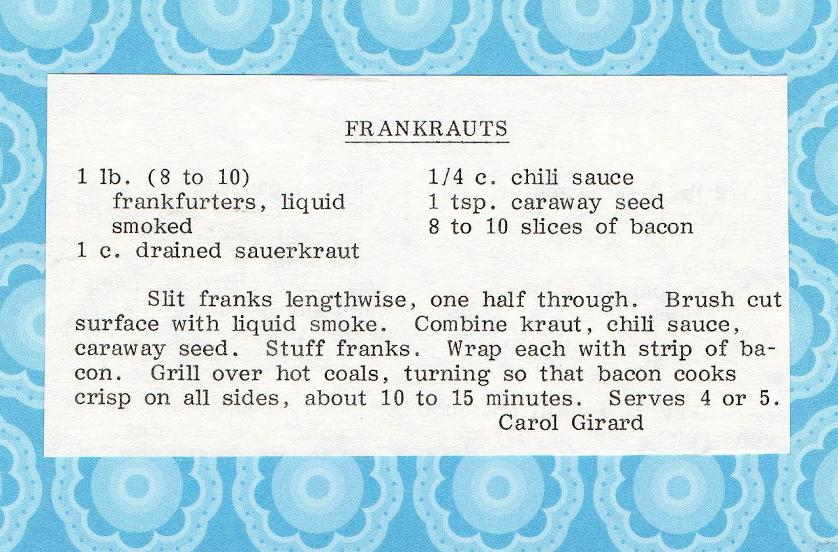 Frankrauts (quick recipe)