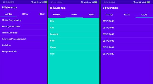 Cara Membuat Sliding TabLayout dan ListView di Android Studio