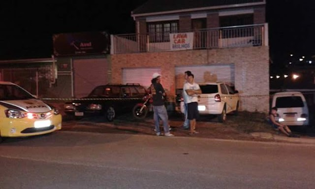 Dono de lava-car é fuzilado com tiros de metralhadora em Colombo