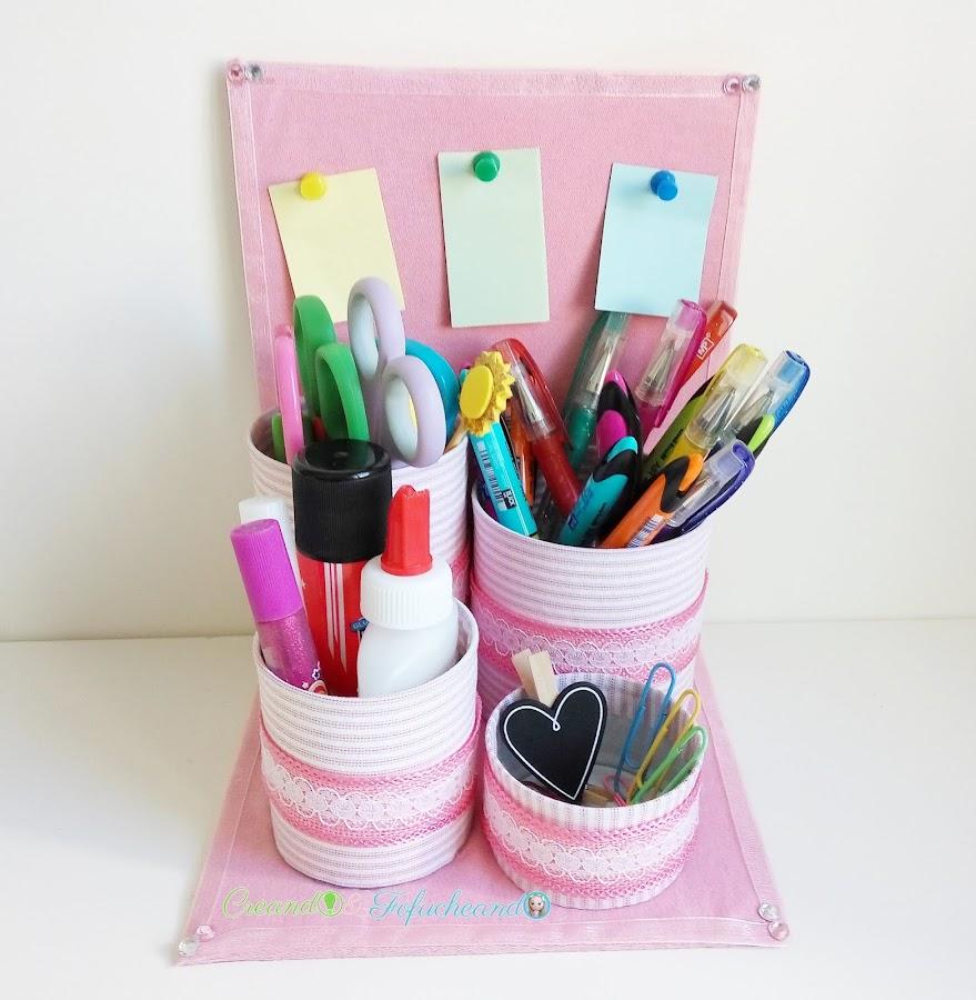organizador-reciclado-con-latas-cartón-y-retales-de-tela-creandoyfofucheando