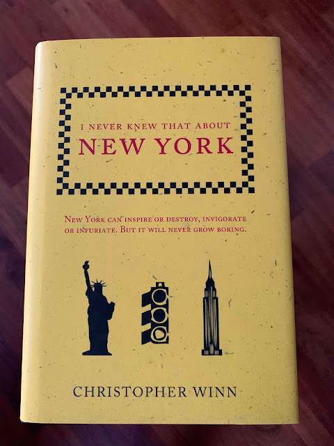 Book cover I never knew that about New York by Christopher Winn