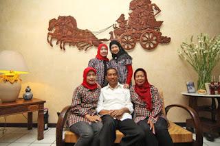 Keluarga Kelahiran Presiden Jokowi Joko Widodo