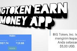 Bigtoken Penghasil Uang/Dollar Tercepat Dan Mudah Di gunakan !! Payment proff