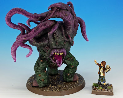 Dark Young of Shug-Niggurath, Mansions of Madness painted miniature