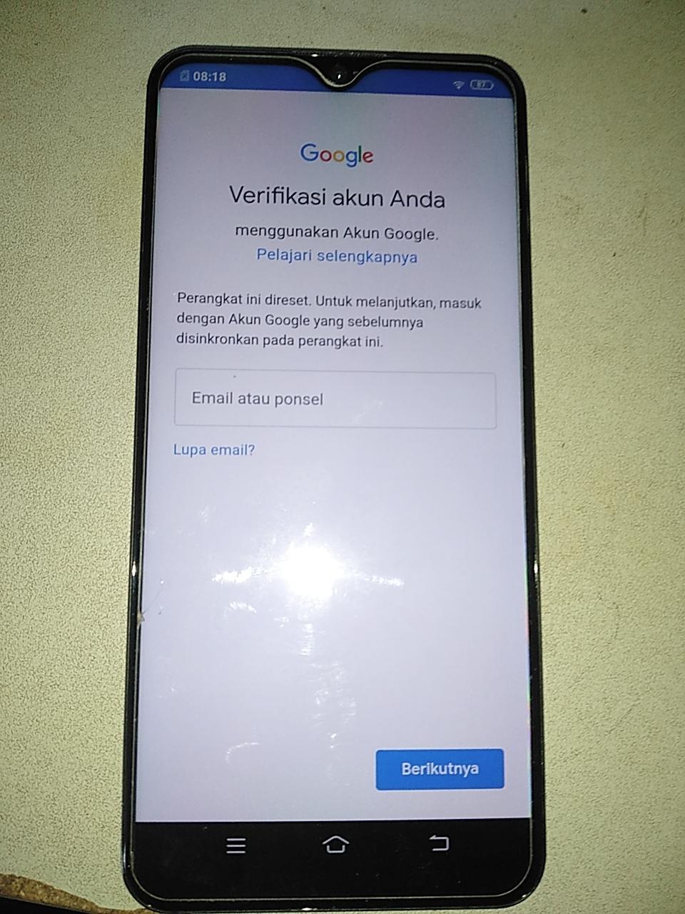 Cara ByPass FRP Google Akun Vivo Y12i