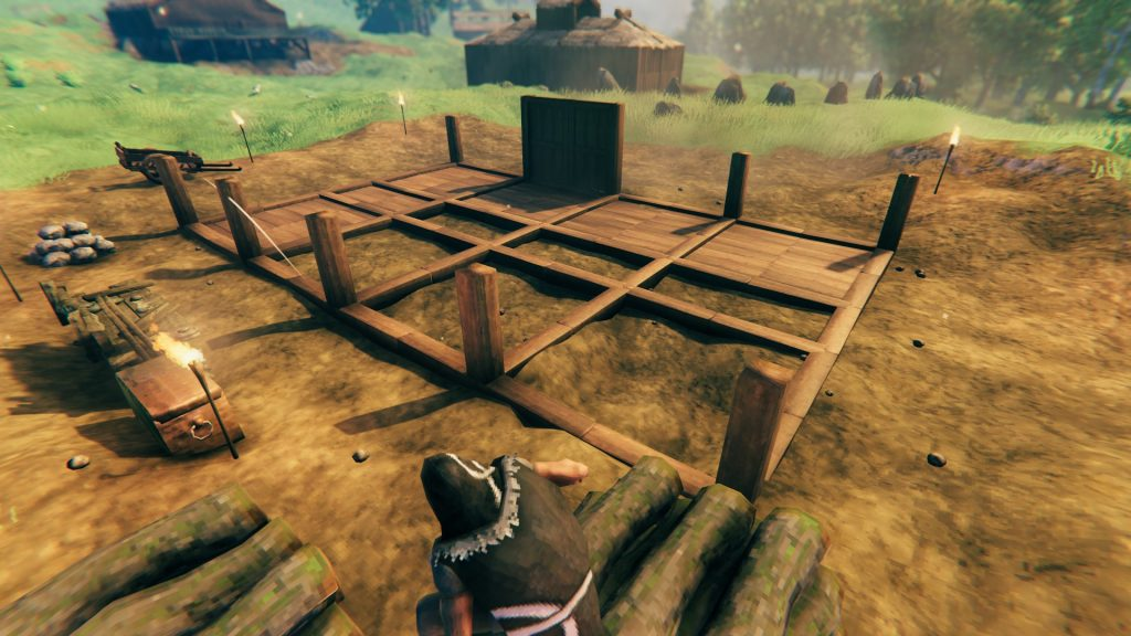 Building houses in Valheim is not that easy.