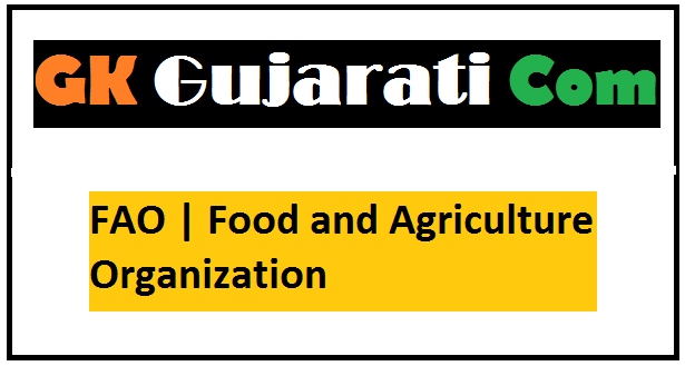 FAO   Food and Agriculture Organization