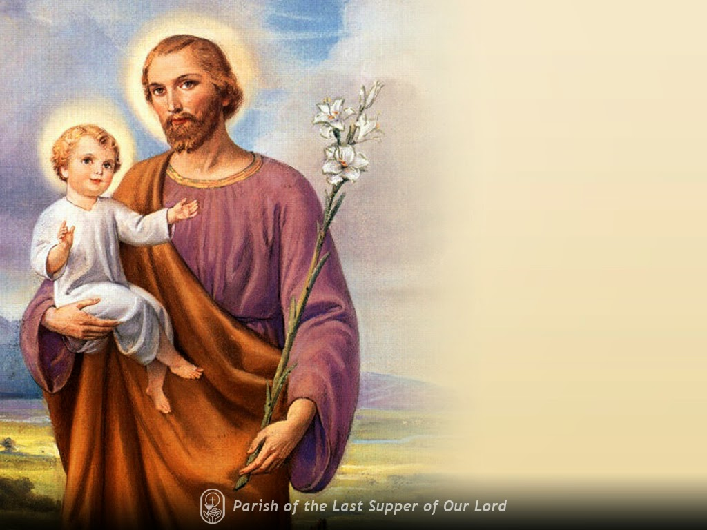 Holy Mass Images...: SAINT JOSEPH, Husband Of The Blessed