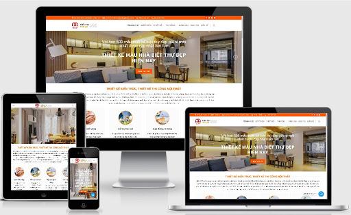Template blogspot dịch vụ thiết kế nội thất 2020