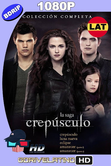 Crepúsculo (2008-2012) Saga Completa BDRip 1080p Latino-Ingles MKV