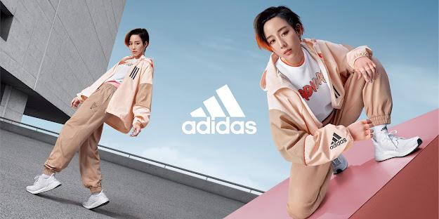 張鈞甯俐落演繹adidas全新2020 Outer Jacket風衣外套,時尚與機能兼具,引領早秋時尚風潮