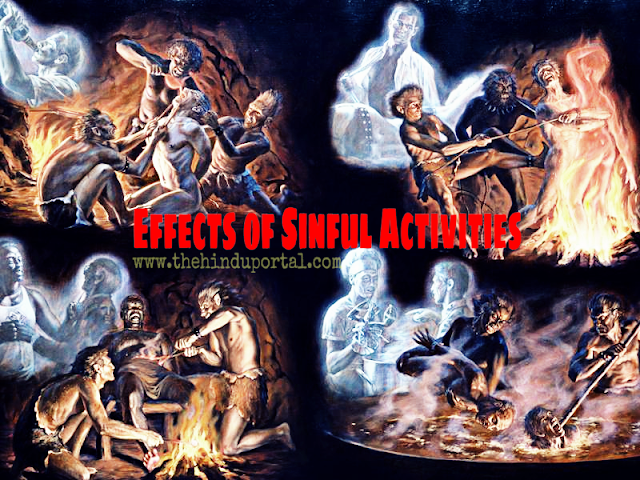 Sinful activities - [vikarma] - and their effects