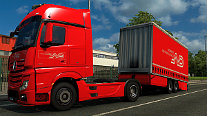 Tandem Norbert Dentressangle pack for MP4 truck