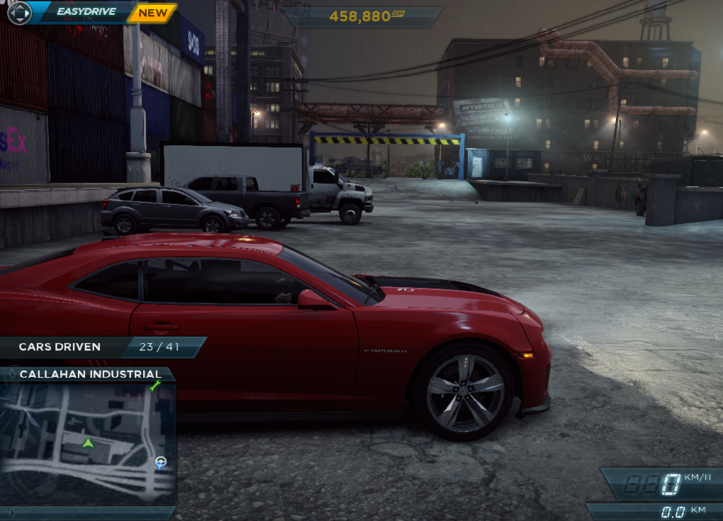 Need For Speed Most Wanted Car Locations Chevrolet Camaro Zl1
