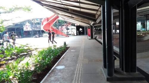 Passando tempo desconectado no Centro Cultural São Paulo