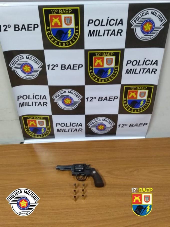 PM prende casal com arma após discussão seguida de tiros em Araçatuba