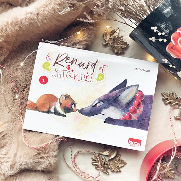 Le Renard et le petit Tanuki - Un manga sur les animaux magiques du folklore japonais