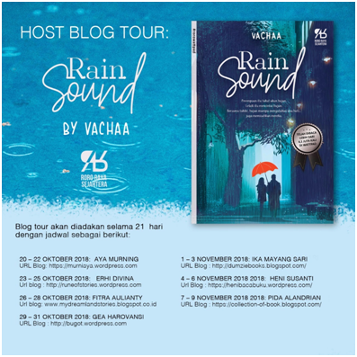 BLOG TOUR & GIVEAWAY #RAINSOUND