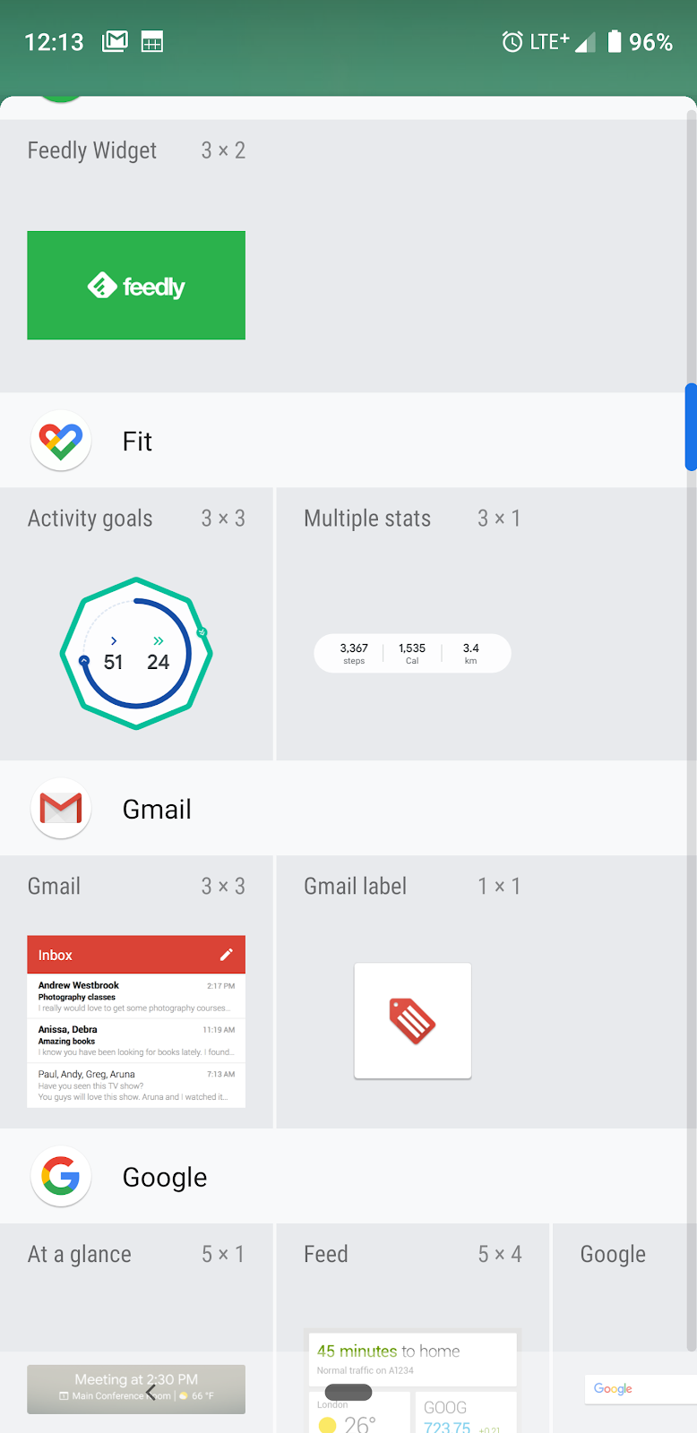 Google Fit FINALLY re-adds widgets ~ Android Coliseum