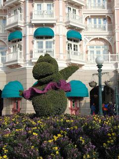DisneyLandPAris - Décorations du printemps