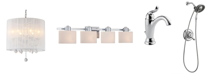 Chrome Bathroom Fixtures