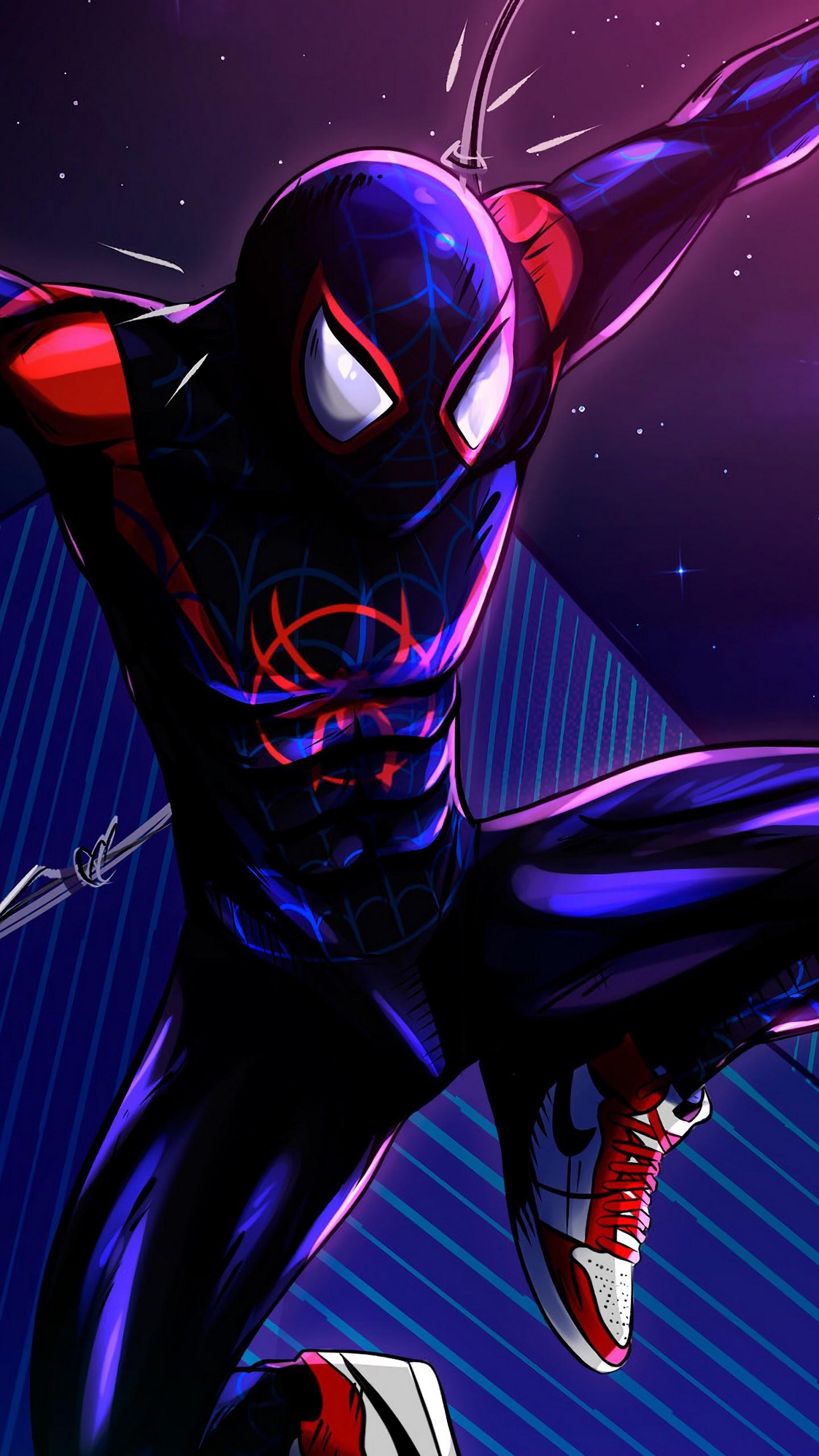 Miles Morales Spider Man Into The Spider Verse 4k Wallpaper 20
