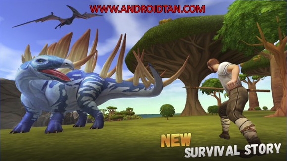 Jurassic Survival Island Ark 2 Evolve Mod Apk for Android