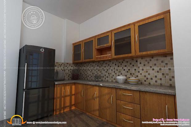 Kitchen Design In Kerala Home Plans