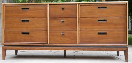 Stanley Furniture Recessed Metal Pull Dresser