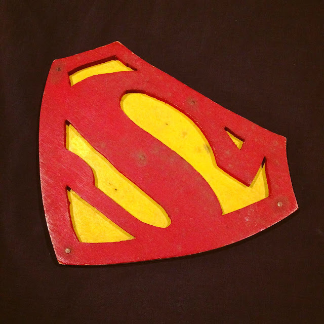 custom Superman \S/ shield