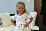 Moda per bambini: vestiti con fantasia animale