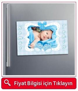 Bebeklere Özel Buzdolabı Magneti