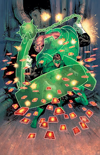 Kilowag and Hal Jordan police the universe on the cover of Green Lantern 25