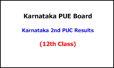 Karnataka 2nd PUC Exam Results 2020