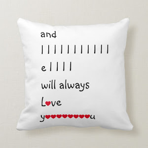 Funny I Will Always Love You | Throw Pillow