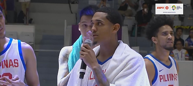 Jordan Clarkson Thanks His Fans & Philippine Team Supporters (VIDEO)